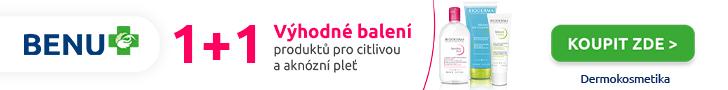 Akce 1+1 zdarma na produkty BIODERMA