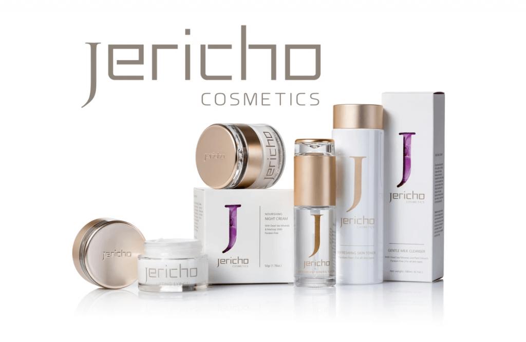 Léčivá kosmetika značek Jericho a Aqua Mineral s černým bahnem a minerály z Mrtvého moře