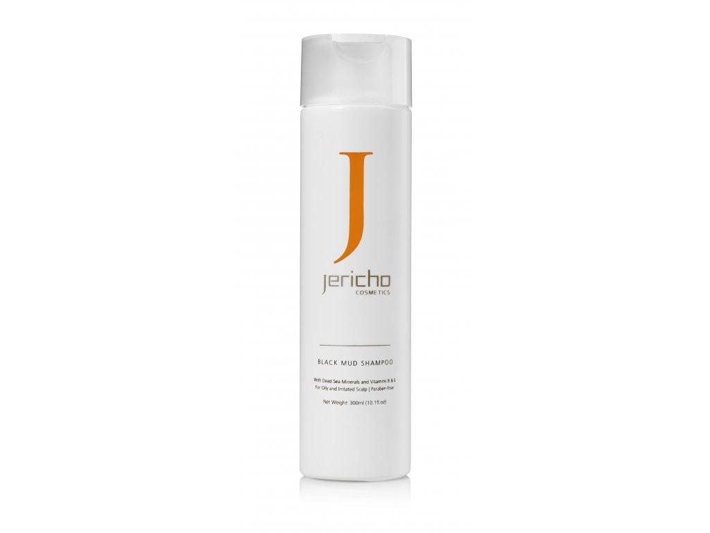 Jericho šampon s černým bahnem z Mrtvého moře, ideální proti lupům a seboroické dermatitidě